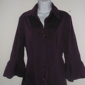 Nomaki Bell Sleeve Blouse Size XL